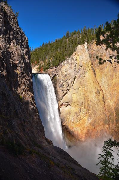 Yellowstone Falls/Yellowstone Nat'l Park/WY - Sept., 2014