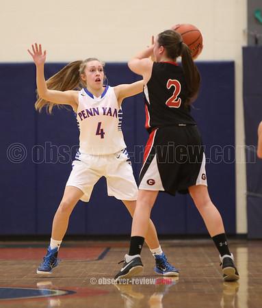 Penn Yan Basketball 2-3-16