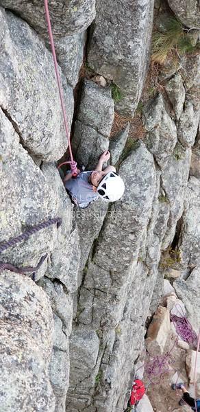 2018 04 27 Yelle rock climbing