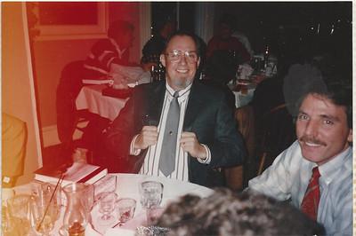 Christmas Dinner Old Field Inn 199?