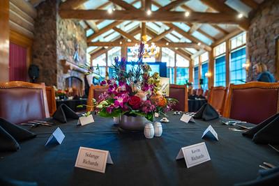10-1-21 Wedding Needles & Fundraiser at Earl's Lodge