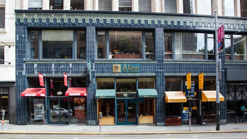 Storefronts on Sutter Street