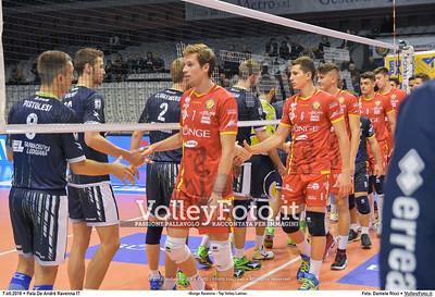 2ª #SuperLega: Bunge Ravenna - Top Volley Latina