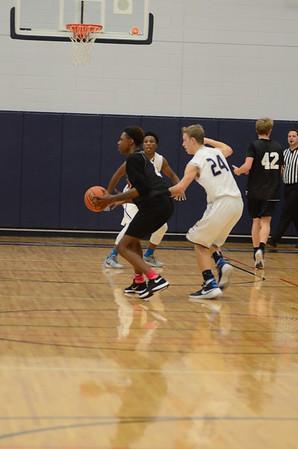 OE boys Jv basketball game 2015