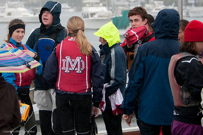 Mater Dei High School Sailing Team Anteater  December 2009 at Newport Harbor Yacht Club