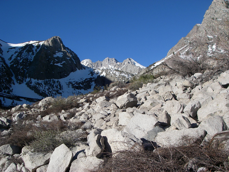 Going into South Fork Big Pine Creek