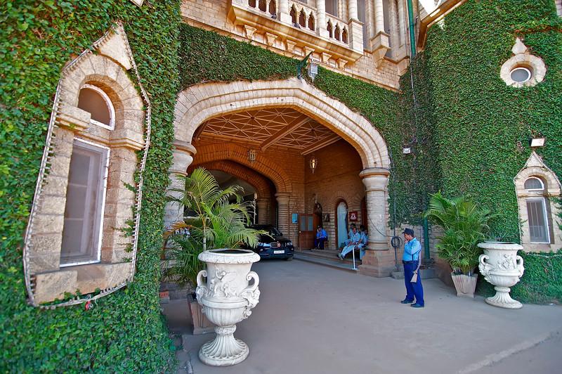 Entrance to the Maharaja's Palace