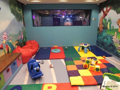 Guppies Playroom & Entourage Teen Lounge NORWEGIAN  GETAWAY Jan 2014
