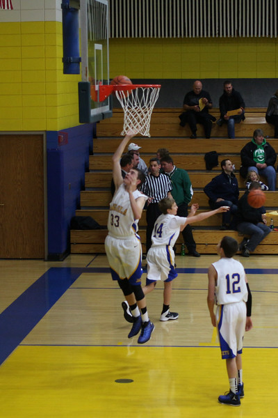 AMS 8th grade Basketball 2015