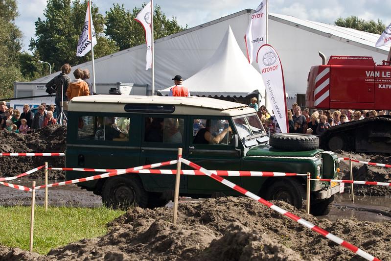 4x4 Zanderij Trial. Kietelkar. Najaarsfeest oranjevereniging Katwijk aan den Rijn.