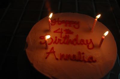 Annalia's 4th Birthday Weekend