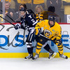 Yale Defeats Quinnipiac 4-0 to  win 2013 NCAA Men's Hockey National Championship at the CONSOL Energy Center, Pittsburgh, Pennsylvania, April 13, 2013. Yales 1st ever NCAA championship in hockey.