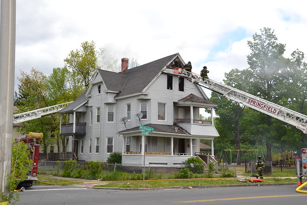 Code Red (Working Fire) 358 Wilbraham Road, Springfield, MA 5/16/16