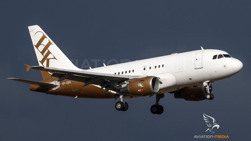 Executive Jet Aircraft  Airbus ACJ318 (A318-112 Elite) VP-CKH