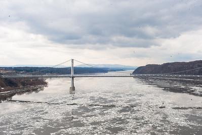 Hudson ice floe