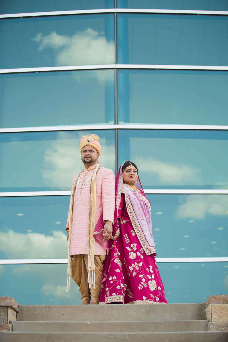 Newlywed Hindu Couple Oklahoma