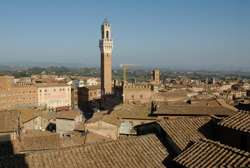 Good view of Piazza del Campo