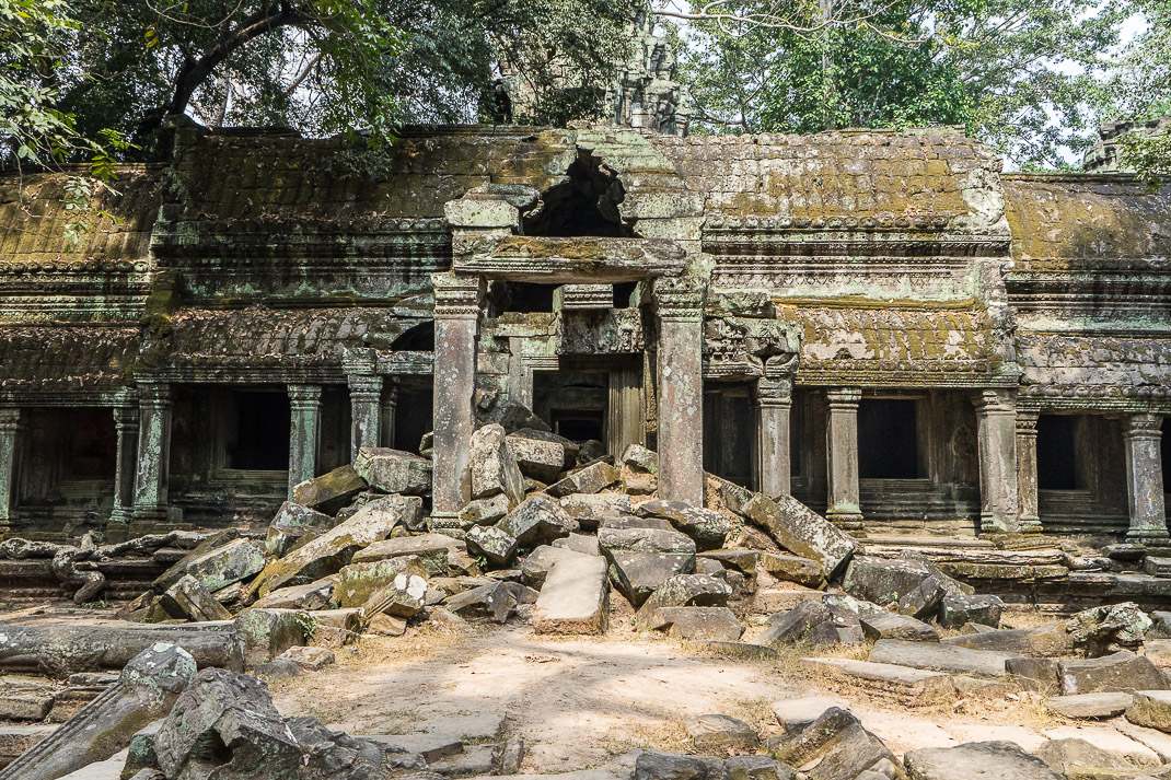 Ta Prohm Main Building