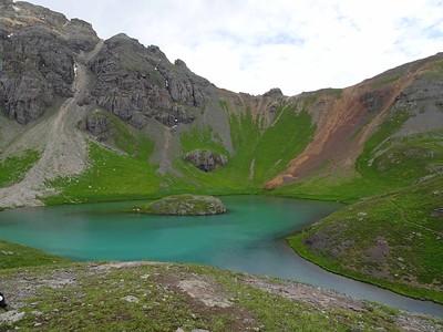 2017-08 Ice and Island Lakes Hike