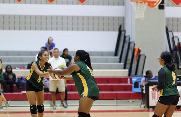 JV Girls Volleyball vs. Wheaton 9/11/2019