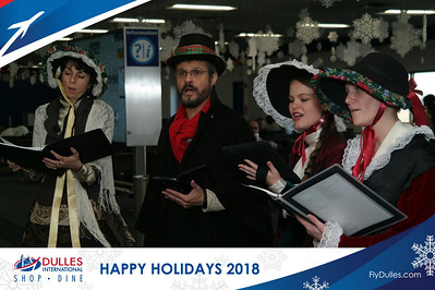 Dulles Shopping & Dining: Happy Holidays 2018 - Day 1