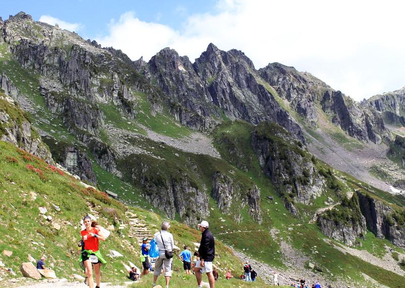 Yuliya ran her mountain race