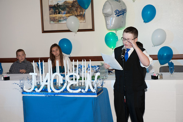 Jacen Whitehill Bar Mitzvah