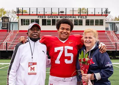 MHS Football & Cheer Senior Families 16APR21