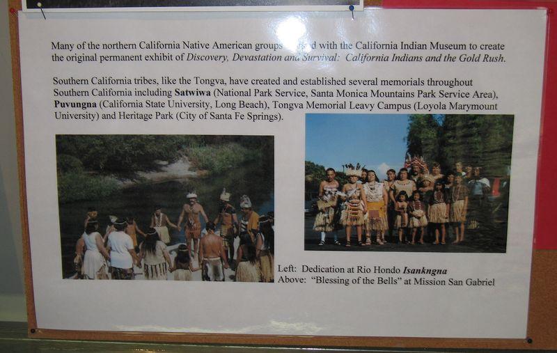 Tongva exhibit, Cooper Regional History Museum, Upland, 2 Jul 2005.