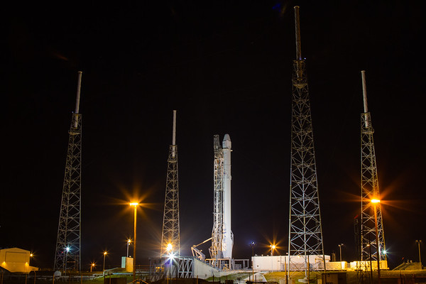 CRS5 launch by SpaceX