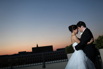 Carrie + Makoto at Lorien Hotel, Old Town Alexandria
