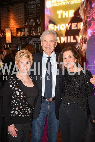 Wilma Bernstein, Stuart Bernstein, Arlene Cherner,  Hope for Henry, 15th Anniversary Extravaganza, ' Sparkles and Sneakers', City Winery in Ivy City. October 20, 2018, photo by Ben Droz.