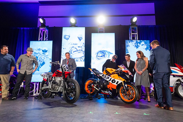 2018 AMA Motorcycle Hall of Fame Induction Ceremony Presented by Honda