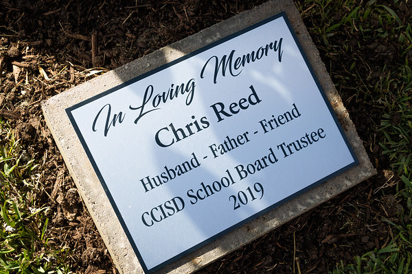 Tree Dedication Ceremony for Chris Reed