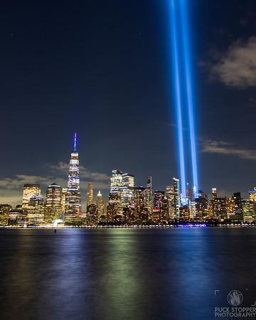 2020 Tribute in Lights - Jersey City, NJ - 9/11/20