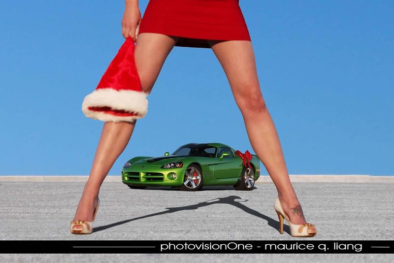 Christmas Wish.  2008 Viper SRT10.  Model: Kelly