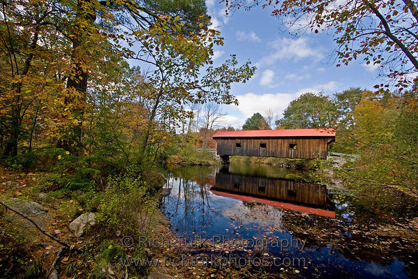 Covered Bridges of New Hampshire and Vermont