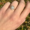 1.97ctw Antique Cluster Ring, GIA G SI2 28