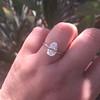 2.13ct Antique Pear Shape Diamond, GIA I, VS2 31