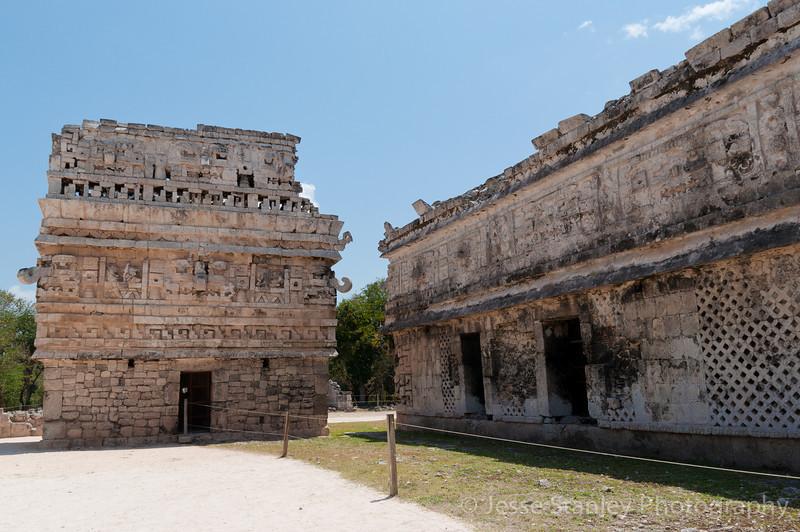 La Iglesia (left) and Las Monjas (right), Chichen Itza