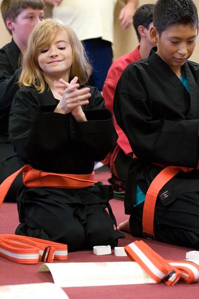 Moore's Karate - Test 8-19-2011