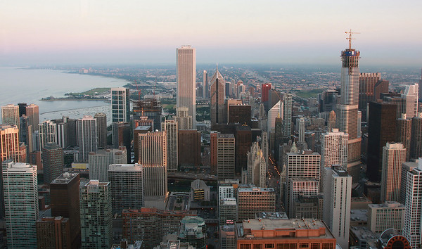 Chicago, John Hancock Tower - 2008