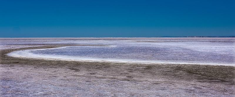 Shimmering Salt of Lake Eyre