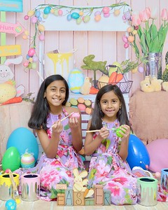 Unjali and Kajol Easter 2020