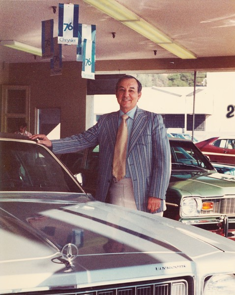 1976, Joe Inside Dealership
