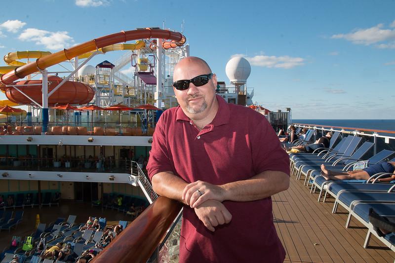 On Board the Carnival Breeze