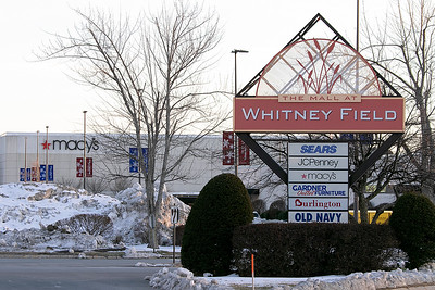 The Mall at Whitney Field in Leominster, Jan. 9, 2020