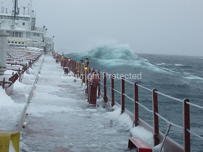 4-Easter Sunday Lake Superior Storm, 04/08/2007; aboard SS Herbert C. Jackson