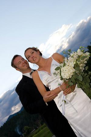 Raynbo and Jeff Wedding
