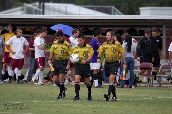 TLU @ SU Soccer Men 2012